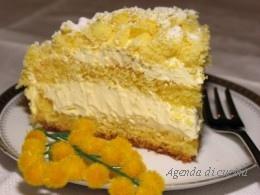 Torta Mimosa al profumo di arance2