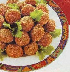 Crocchette con farina di ceci e verdure
