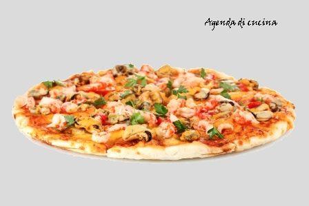 Pizza alla pescatora