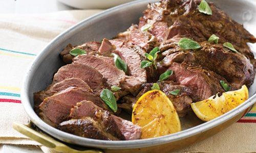 Arrosto di carne  al patè