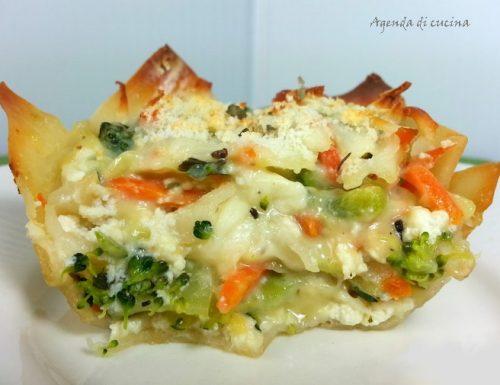 Lasagne vegetariane farcite alle verdure