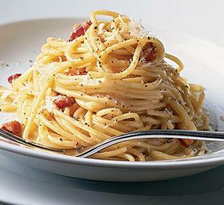 Spaghetti alla pancetta