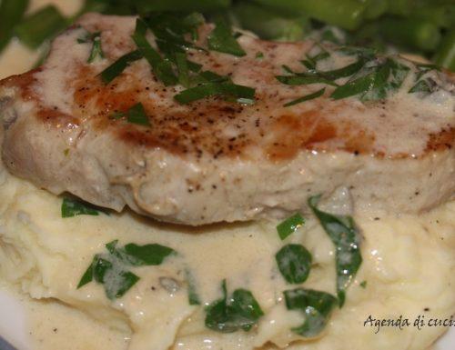 Filetto di maiale al gorgonzola