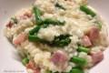 Risotto agli asparagi e prosciutto cotto