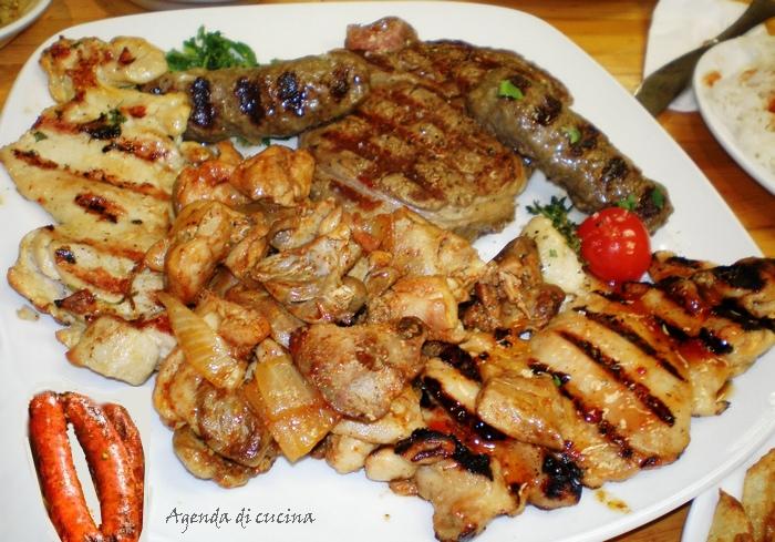 Mix di carne grigliata