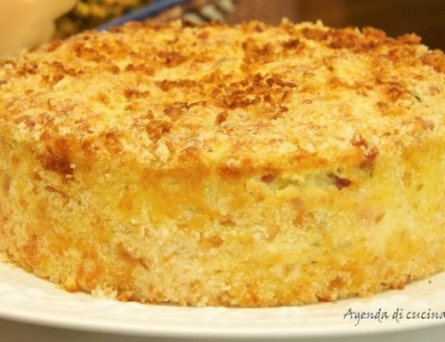 Torta di patate e mozzarella