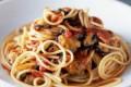 Spaghetti con cozze e patate