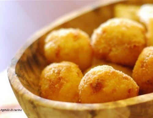 Arancini di polenta ( Cotto e mangiato)