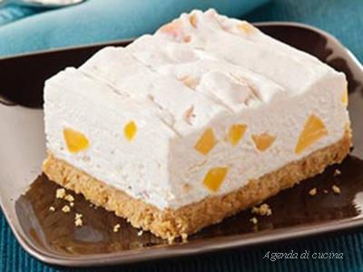 Cheesecake all'ananas e vaniglia