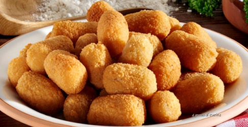 Crocchette di mortadella e patate