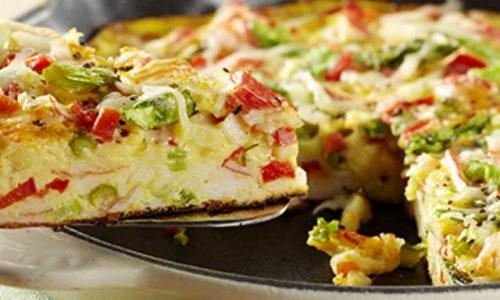 Sformato di patate con verdure (La prova del cuoco)