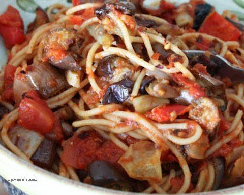 Spaghetti con le melanzane abbottonate (La Prova del Cuoco)