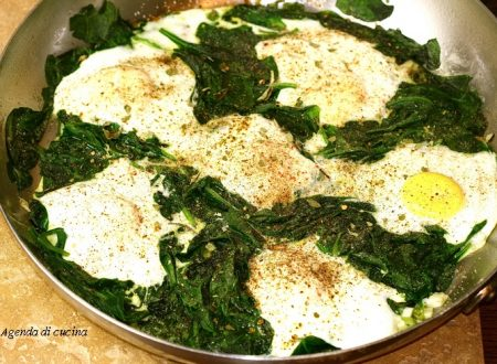 Uova agli spinaci
