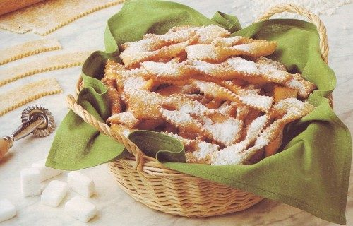 Chiacchiere fritte di carnevale
