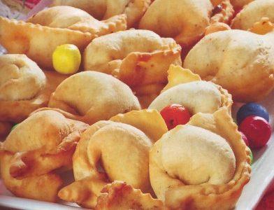 Tortelloni dolci fritti