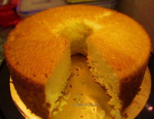 Ciambella all'arancia con yogurt