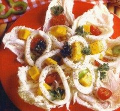 Insalata di calamari e mango
