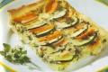 Torta salata di carote e zucchine