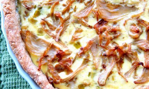 Crostata di patate e finocchi