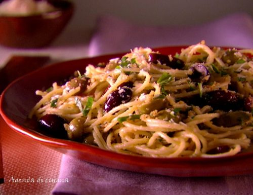 Spaghetti al pangrattato
