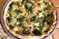 Torta salata con bietole e olive