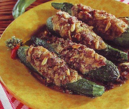 Zucchine farcite alla siciliana