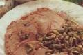 Arrosto con funghi e pistacchi