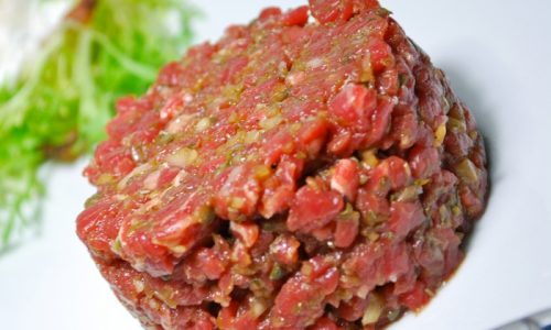 Carne di manzo alla Tartara
