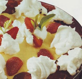 Fragole alle due creme