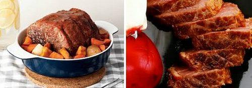 Girello di carne alle verdure