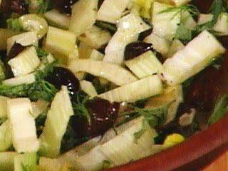 Insalata di finocchi alle olive