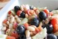 Insalata di pomodori e fagioli cannellini