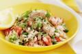 Insalata di riso con tonno e verdure
