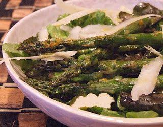 Insalata ricca asparagi e fontina