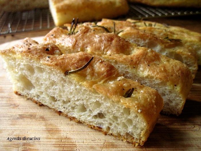 Ricetta del pan focaccia