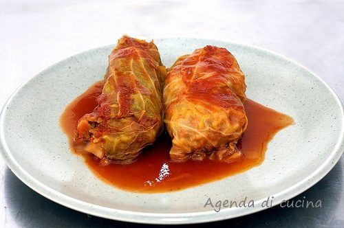 Fagottini di lattuga alla carne
