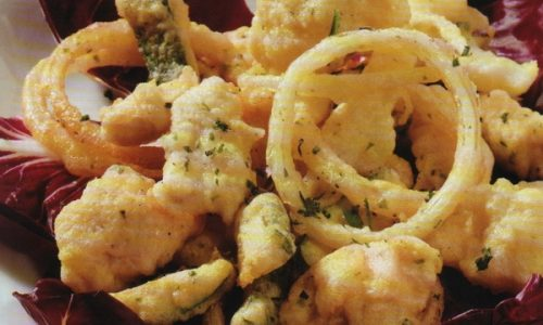 Pollo e Verdure in pastella