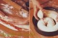 Pandolce a spirale con marmellata di amarene