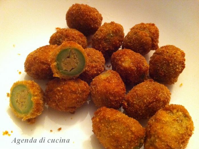 Olive all'ascolana antipasto sfizioso