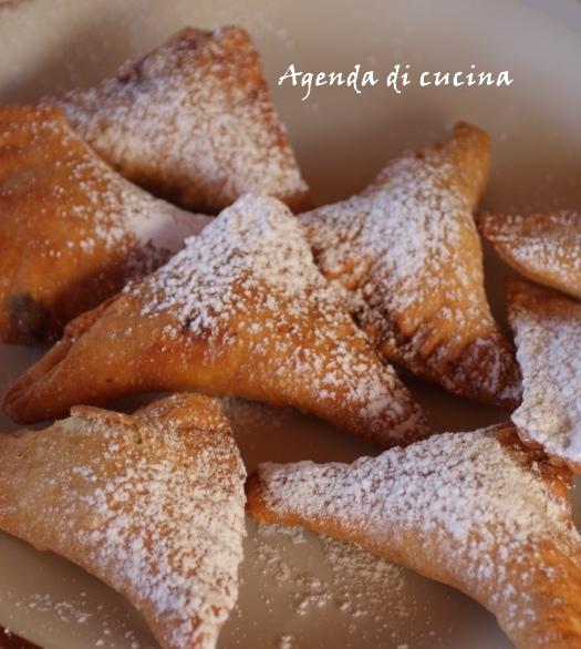 Tortelli dolci alla ricotta fritti