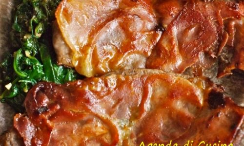 Scaloppine di vitello al prosciutto crudo