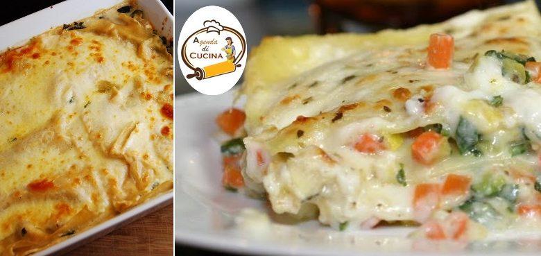 Lasagne con funghi e verdure