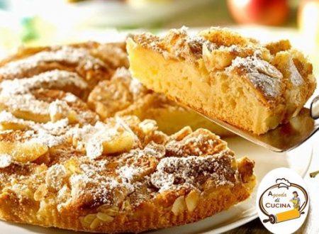 Torta rustica alle mele e mandorle