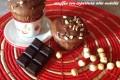 muffin con copertura alla nutella