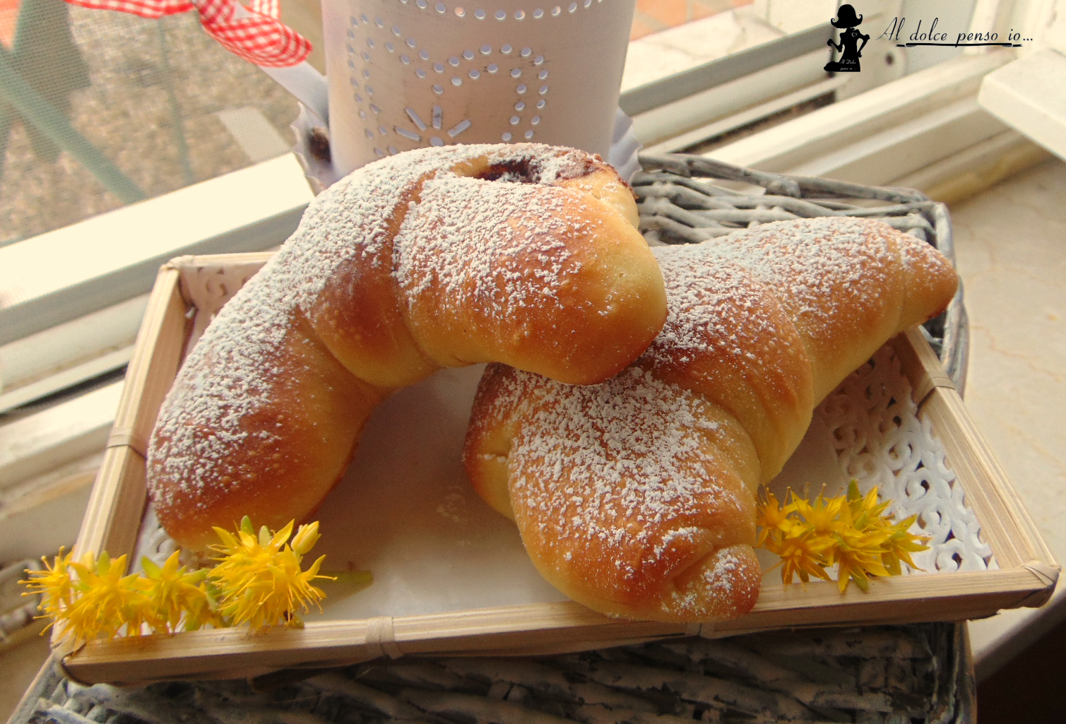 cornetti di pan brioche