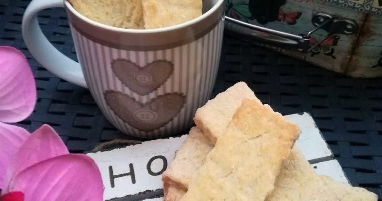 biscotti al mais e vaniglia