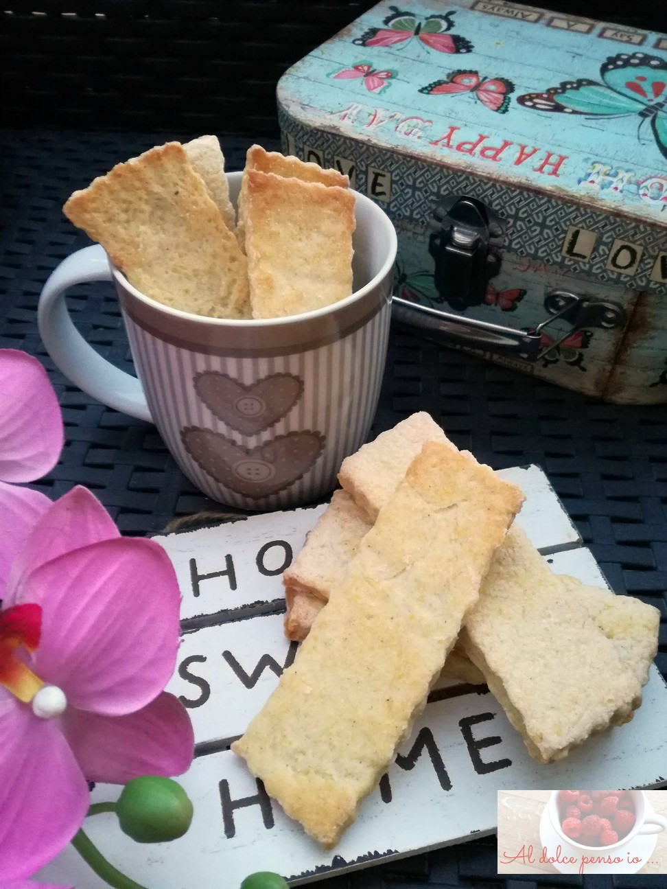 biscotti al mais e vaniglia: dei biscotti semplici ma davvero molto buoni