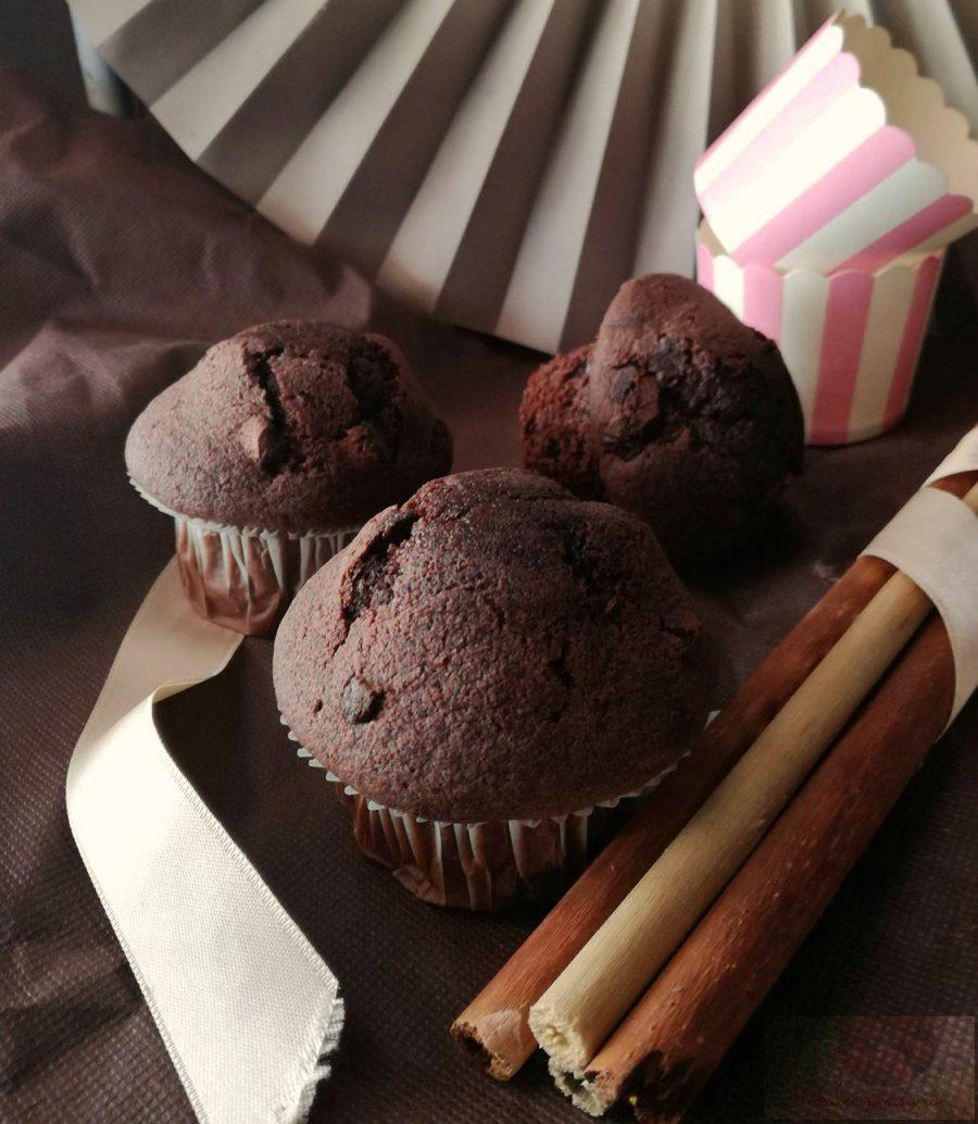 muffin al cioccolato senza burro-ricetta facilissima