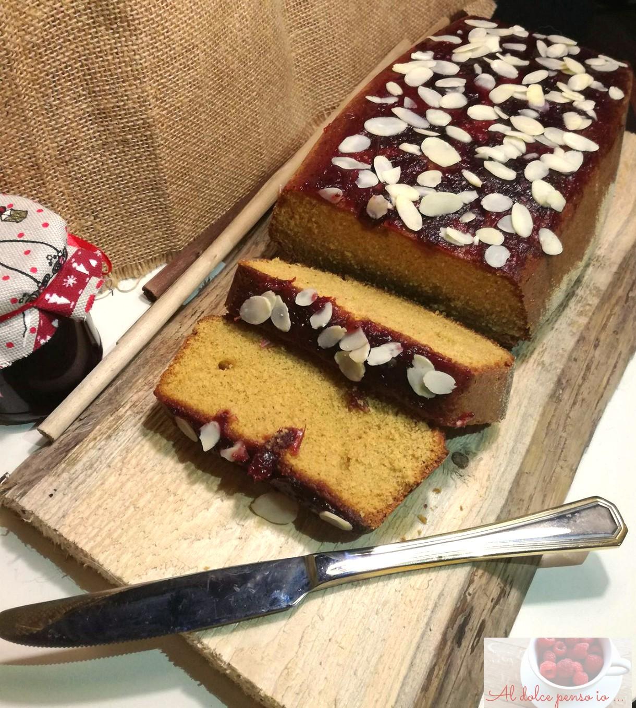cake grano saraceno e marmellata