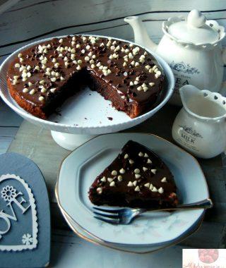 torta umida cioccolato e yogurt